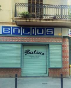 Balius Bar, Poble nou