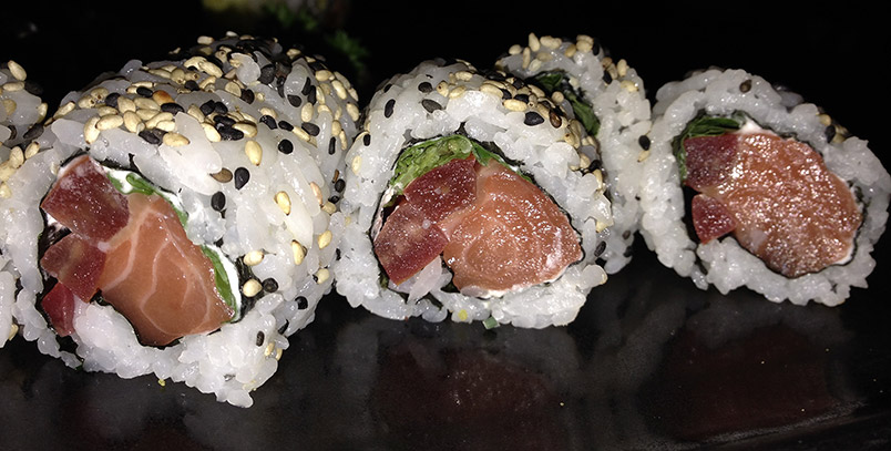 kibuka sushi Gracia albahaca uramaki