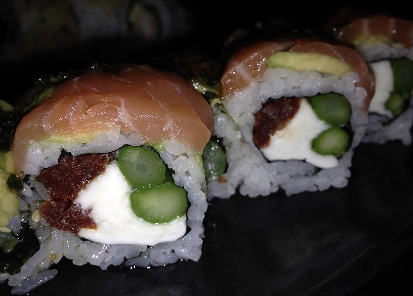 kibuka sushi Gracia italiano uramaki