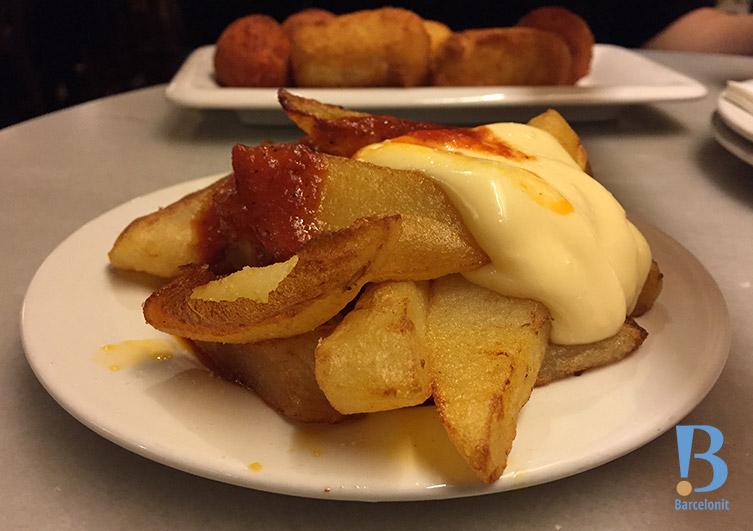 bar del pla patatas bravas